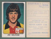Partick Thistle Jim Melrose Scotland 559